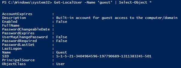 Account Managing with PowerShell 3