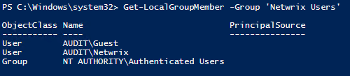 Account Managing with PowerShell 6