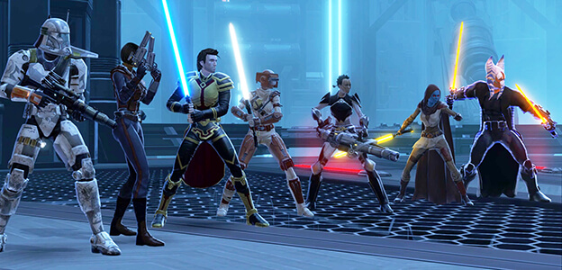 Star Wars mmorpg