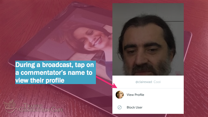 Periscope on Android Tutorial: follow broadcast commentators