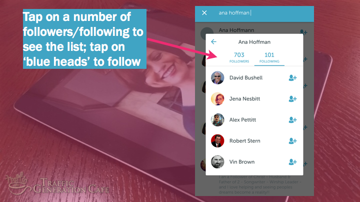 Periscope on Android Tutorial: follow users on other followers