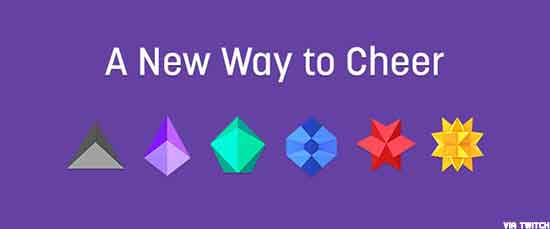 Twitch cheer bits - a way to accept donations